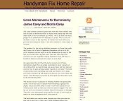 Handyman Fix Home Repair